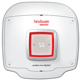 Hindware Atlantic Ondeo Evo 25 Litres 5 Star Storage Water Geyser (2500 Watts, SWH 25A-2D, White)_1