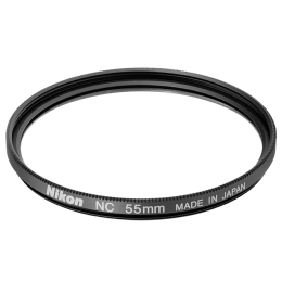 Nikon 55 mm NC Camera Lens Filter (FTA08301, Black)_1