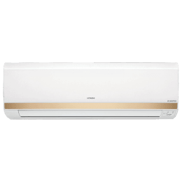 Hitachi 1 Ton 5 Star Inverter Split AC (Kashikoi 5300X RSOS512ICEA, Copper Condenser, Silver)_1