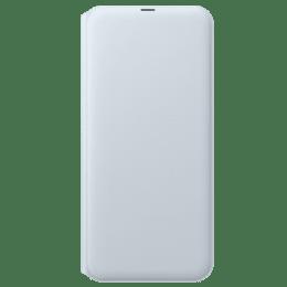 Samsung Galaxy A50 Wallet Flip Case Cover (EF-WA505PWEGIN, White)_1