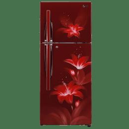 LG 260 L 3 Star Frost Free Double Door Inverter Refrigerator (GL-C292RRGY, Ruby Glow)_1