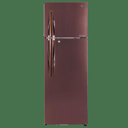 LG 360 L 4 Star Frost Free Double Door Inverter Refrigerator (GL-T402JASN.DASZEB, Amber Steel)_1