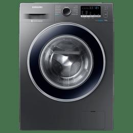 Samsung 7 kg Fully Automatic Front Loading Washing Machine (WW70J42E0BX/TL, Inox)_1