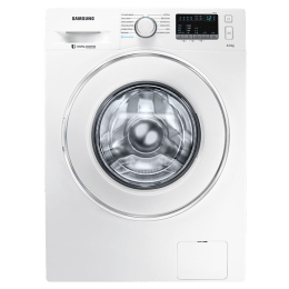 Samsung 8 kg Fully Automatic Front Loading Washing Machine (WW80J44G0IW/TL, White)_1