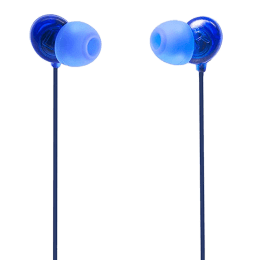 Philips UpBeat In-Ear Wired Earphones with Mic (SHE2405BL/00, Blue)_1