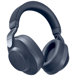 Jabra Bluetooth Headphones (Elite 85h, Navy blue)_1