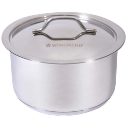 Wonderchef Stanton 16 cm Cooking Pot with Lid (63152968, Silver)_1