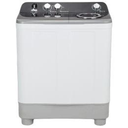 Haier 7 Kg Semi-Automatic Top Load Washing Machine (HTW70-186S, White)_1