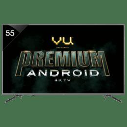 Vu 140 cm (55 inch) 4k Ultra HD LED Smart TV (55OA, Black)_1