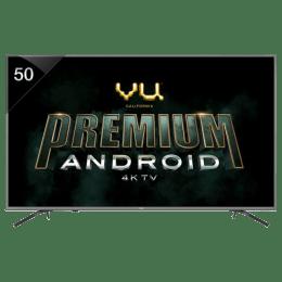 Vu 127 cm (50 inch) 4k Ultra HD LED Smart TV (50OA, Black)_1
