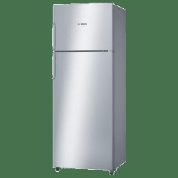 Bosch 347 L 4 Star Frost Free Double Door Inverter Refrigerator (KDN43VL40I, Stainless Steel)_1