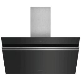 Siemens iQ700 991 m³/hr 90cm Wall Mount Chimney (Touch Control, LC91KWP60I, Black)_1
