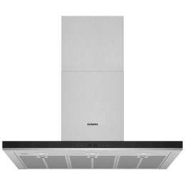 Siemens iQ500 843 m³/hr 90cm Wall Mount Chimney (Soft Touch LED Display, LC98BIT50I, Stainless Steel)_1