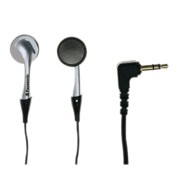 Panasonic In-Ear Wired Earphones with Mic (RP HV315, Silver)_1