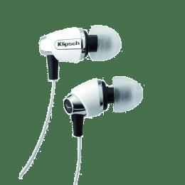 Klipsch In-Ear Wired Earphones (Image S4, White)_1