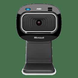 Microsoft LifeCam HD 300 Wired USB Webcam (T3H-00005, Black)_1
