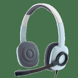 Logitech H250 Stereo Headset (Grey)_1