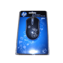 HP Blossom 800 DPI Wired Mouse (Nt341Pa, Black/Silver)_1