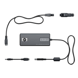 HP 90 Watt Smart AC Adapter with Dongle (KG298AA, As Per Stock Availability)_1