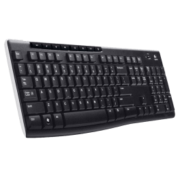 Logitech K270 Wireless Keyboard (Black)_1