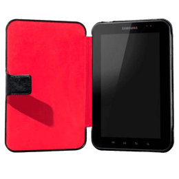 Capdase Protective Flip Cover for Samsung Galaxy Tab P7510 (SLSGP7510-PU01, Black/Red)_1