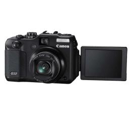 Canon PowerShot 10 MP Point & Shoot Camera (G12, Black)_1