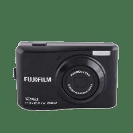 Fujifilm 12 MP Point & Shoot Camera (FinePix C20, Black)_1