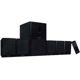 Philips 5.1 Channel Speaker (DSP3500, Black)_1