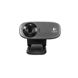 Logitech C310 5 Megapixels Wired USB Webcam (Black)_1