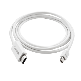 Capdase 220 cm HDMI (Type-A) to Mini Display Port Cable (AVAP00-C602, White)_1