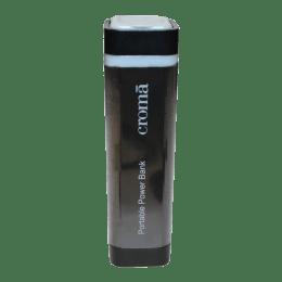 Croma 2200 mAh Portable Power Bank (CA0039, Black)_1