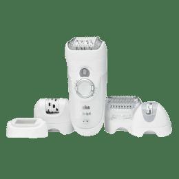 Braun Silk-pil 7 Wet & Dry Epilator (7681, White)_1