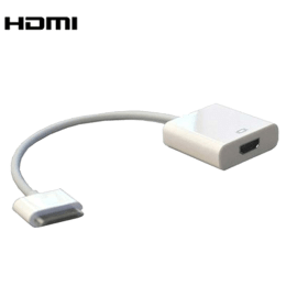 Apple 30-pin to HDMI (Type-A) Cable (MD098ZM/A, White)_1