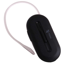 Itech 303 Oval Bluetooth Headset (Black)_1