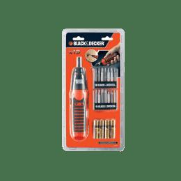 Black & Decker Cordless Screwdriver (SD A7073, Orange/Black)_1