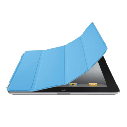 Apple iPad 2 Smart Flip Cover (MC942ZM/A, Blue)_1