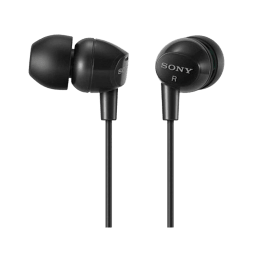 Sony In-Ear Wired Earphones (MDR-EX10LP, Black)_1
