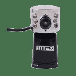 Intex 400k Night Vision 8 Megapixels Wired USB Webcam (Black/Grey)_1