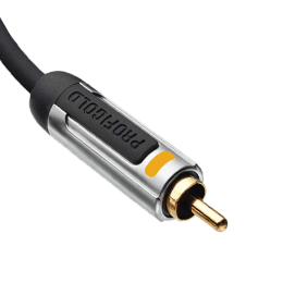 Profigold 100 cm Digital Optical Cable (5601, Black)_1