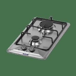 KAFF K/Hb 30 2B 2 Burners Built In Hob (Black/Silver)_1
