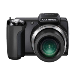 Olympus 14 MP DSLR Camera with 5 - 110 mm Lens (SP-610UZ, Black)_1