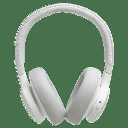 JBL Wireless Bluetooth Headphones (Live 650BTNC, White)_1