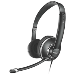 Philips SHM7410/97 PC Headset (Black)_1