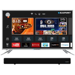 Blaupunkt 80 Cm (32 Inch) HD LED Smart TV (BLA32AS460, Black)_1