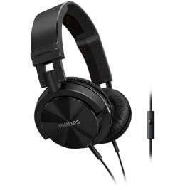 Philips SHL3005BK/00 DJ Monitor Style Headband Headphone (Black)_1