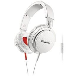 Philips SHL3105WT/00 DJ Monitor Style Headband Headphone (White)_1