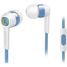 Philips In-Ear Wired Earphones with Mic (SHE7055AR/00, White/Blue)_1