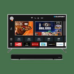 Blaupunkt 109 Cm (43 Inch) Full HD LED Smart TV (Metallic Space Grey & Black, BLA43AS570)_1