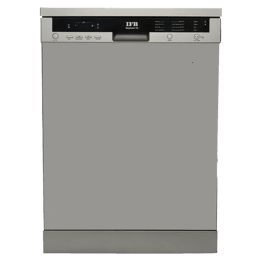 IFB Neptune VX 12 Place Setting Freestanding Dishwasher (Water Softener, Dark Silver)_1