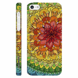Enthopia Desert Rose Polycarbonate Back Case Cover for Apple iPhone 5S (ED-5204 5S, Multicolor)_1